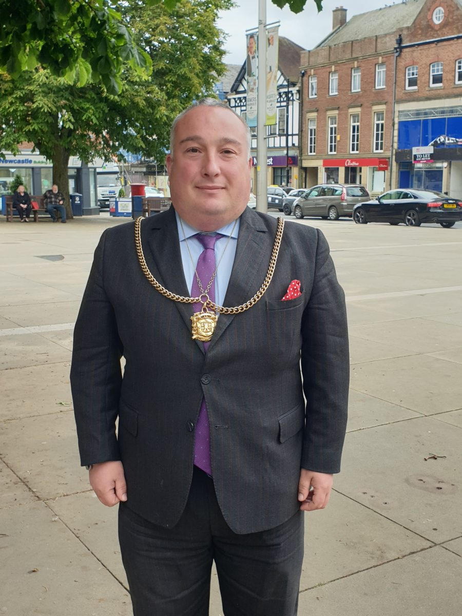 Mayor of Morpeth Councillor David Bawn