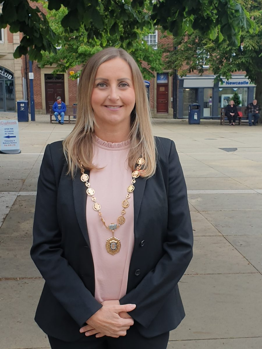 Deputy Mayor of Morpeth Councillor Rachael Hogg