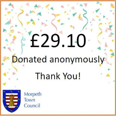 Anonymous Charity Donation £29.10 - Click to open full size image