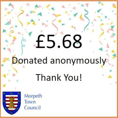 Anonymous Charity Donation £5.68 - Click to open full size image