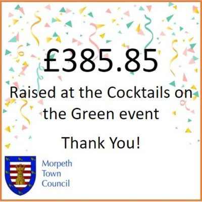 Cocktails On The Green Fundraiser £385.85 - Click to open full size image
