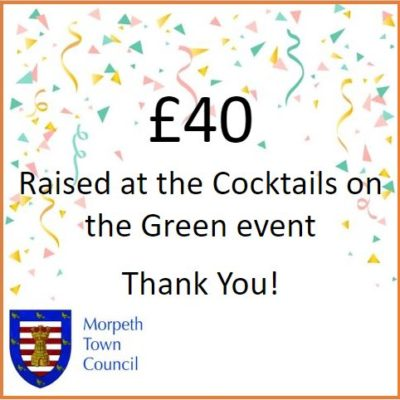 Cocktails On The Green Fundraiser £40 - Click to open full size image