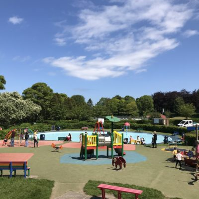 Carlisle Park Paddling Pool and Play Area - Click to open full size image