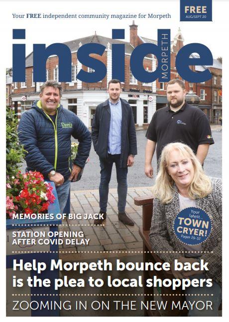 Inside Morpeth August September 2020 Icon