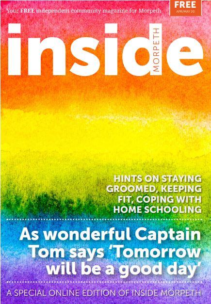 Inside Morpeth Magazine April May 20 Icon