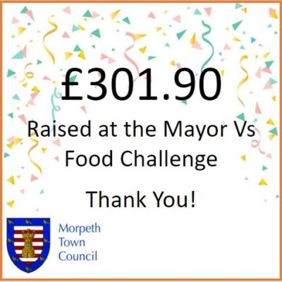 Mayor Vs Food Fundraiser £301.90 - Click to open full size image