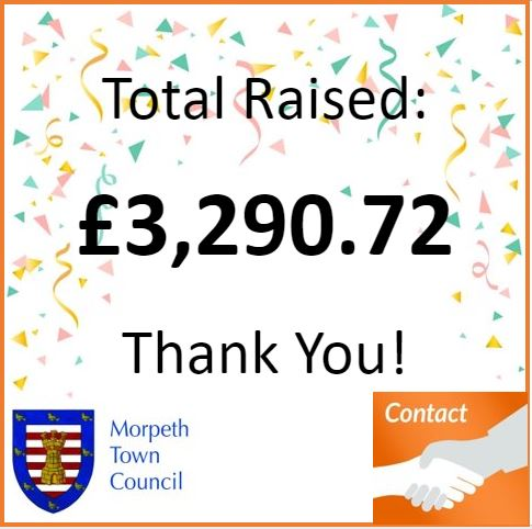 Mayor's Charity Total £3,290.72