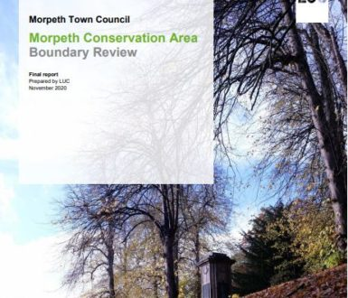 Morpeth Conservation Area Boundary Review Picture