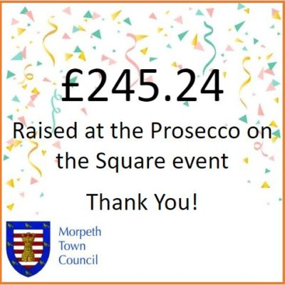 Prosecco On The Square Fundraiser £245.24 - Click to open full size image