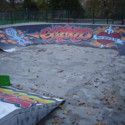 Skatepark Graffiti Art - Click to open full size image