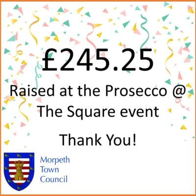 Mayor's Charity Donation Prosecco @ The Square £245.25