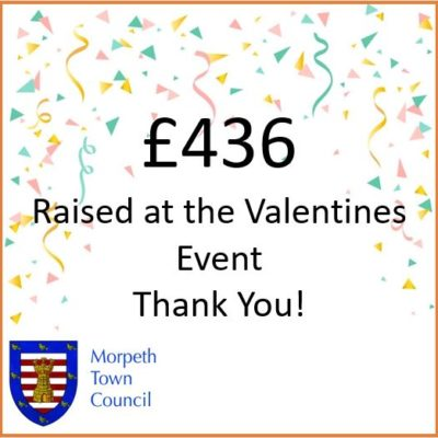 Mayor's Charity Donation Valentines Event £436