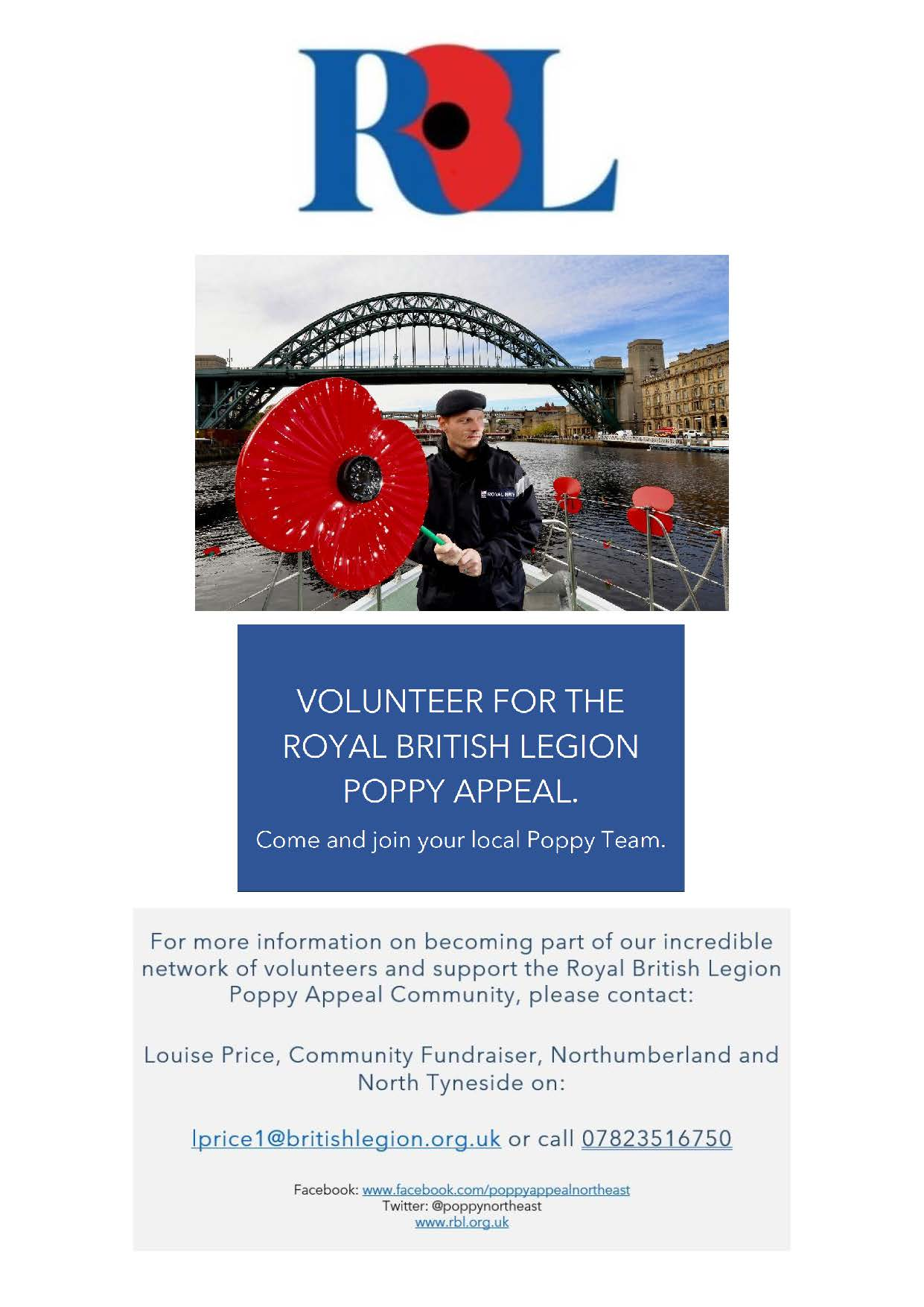 Poppy Appeal Representative Recruitment Flyer Page 4