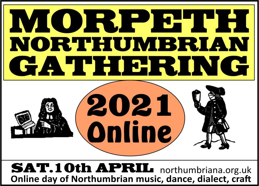 Online Morpeth Northumbrian Gathering Advert