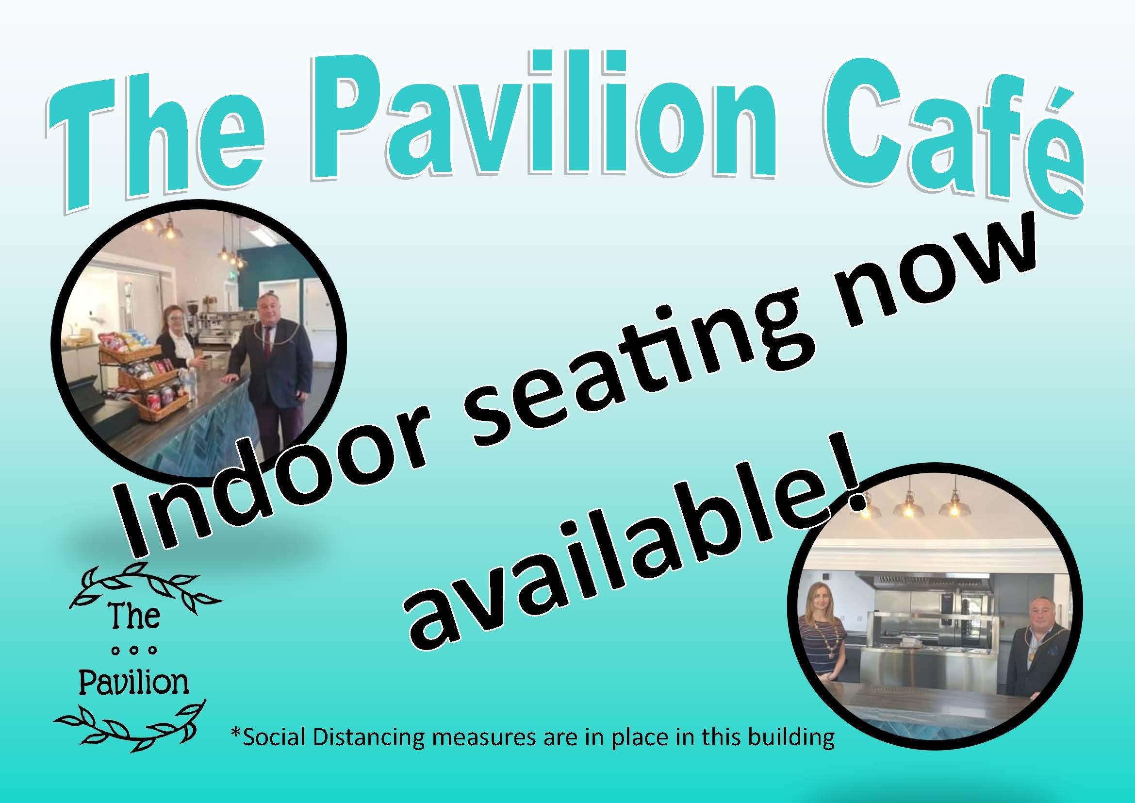 Indor Seating Pavilion Poster