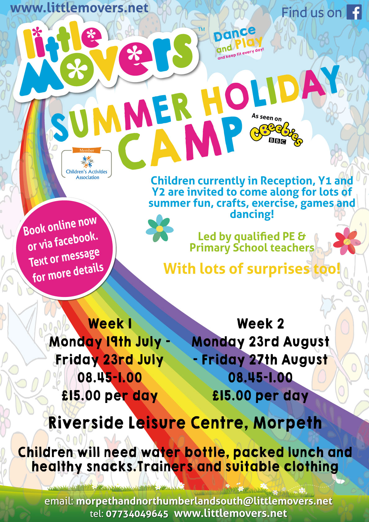 Little Movers Summer Holiday Camp