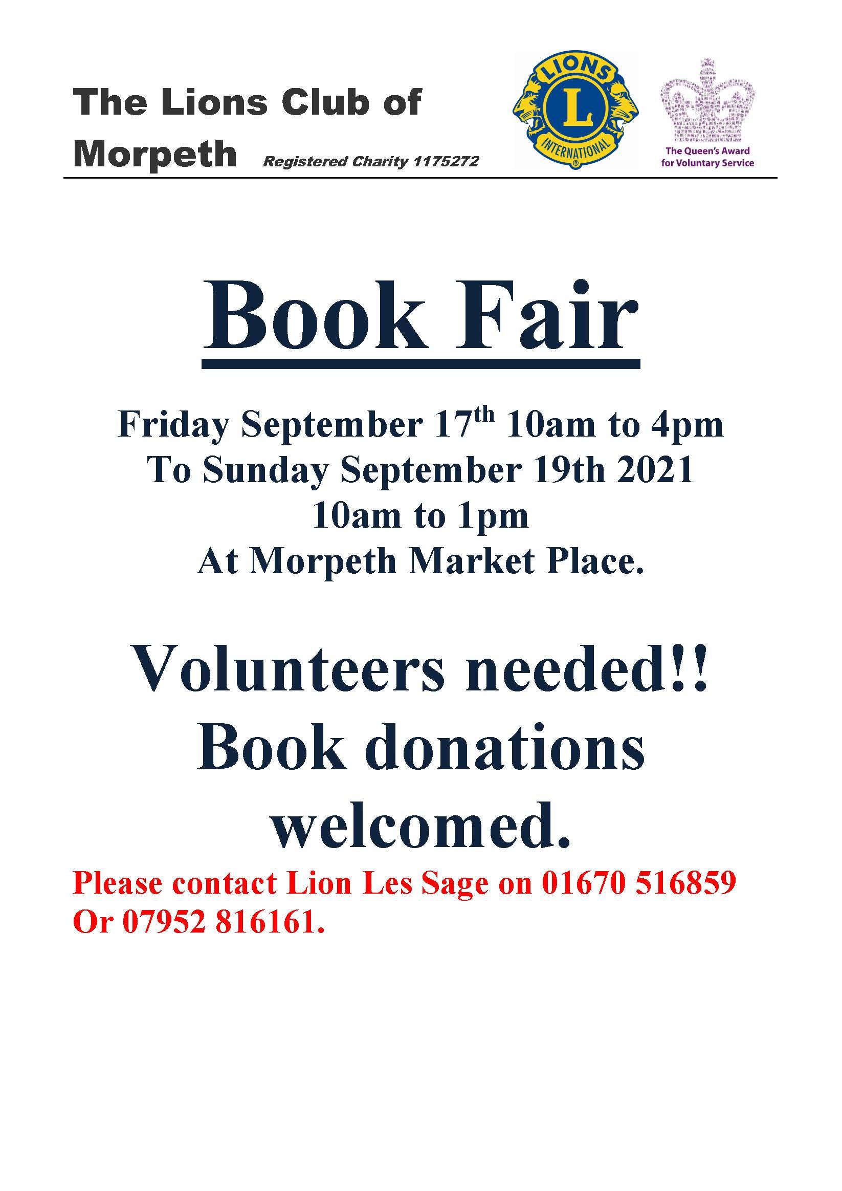 20210919 Lions' Book Fair