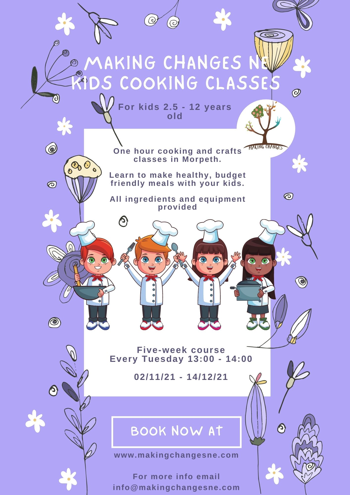 Copy Of Summer Cooking Classes Morpeth